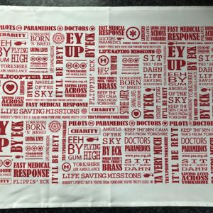 Yorkshire Air Ambulance Tea Towel