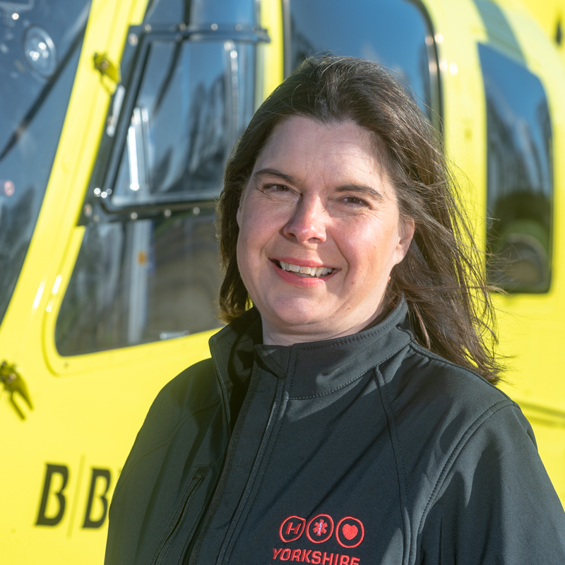 Image of Yorkshire Air Ambulance North Community Fundraiser Clare Deacon