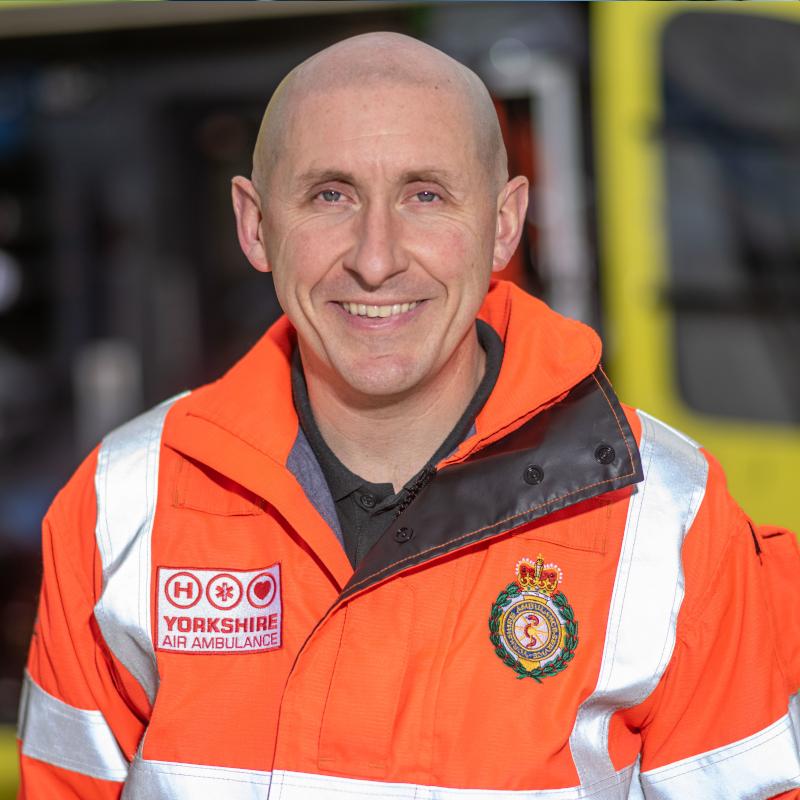 Image of HEMS Paramedic Gav McCune