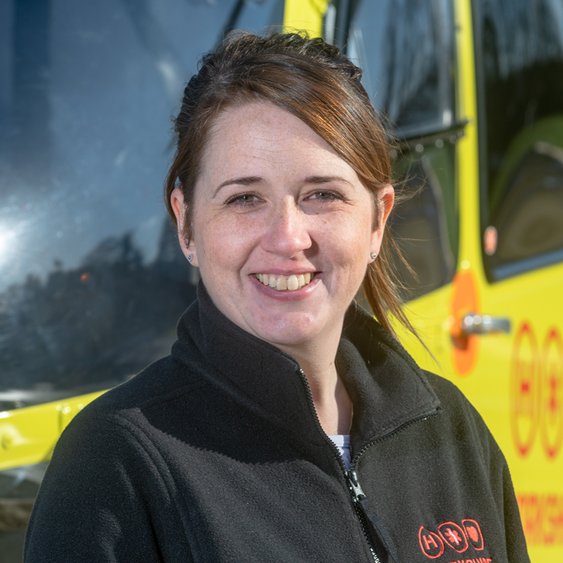 Image of Yorkshire Air Ambulance West Community Fundraiser Helen Berriman