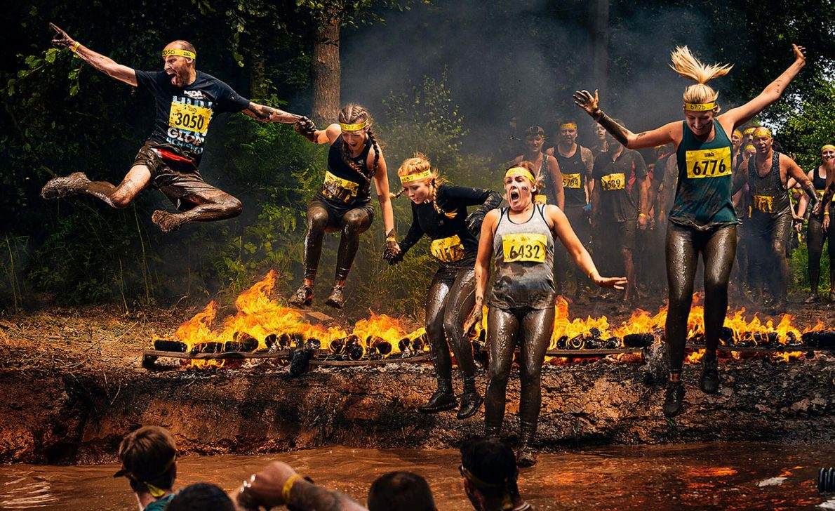 Yorkshire Air Ambulance Charity Tough Mudder Members