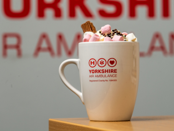 Image showing a hot chocolate day for Yorkshire Air Ambulance