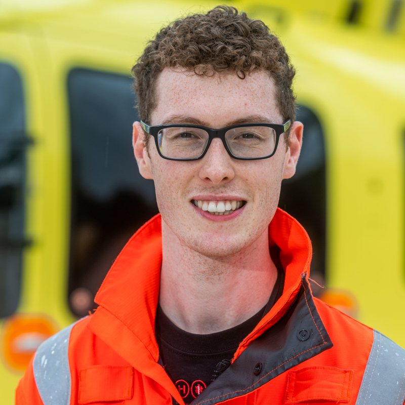 Image of HEMS Yorkshire Air Ambulance Paramedic James Allen