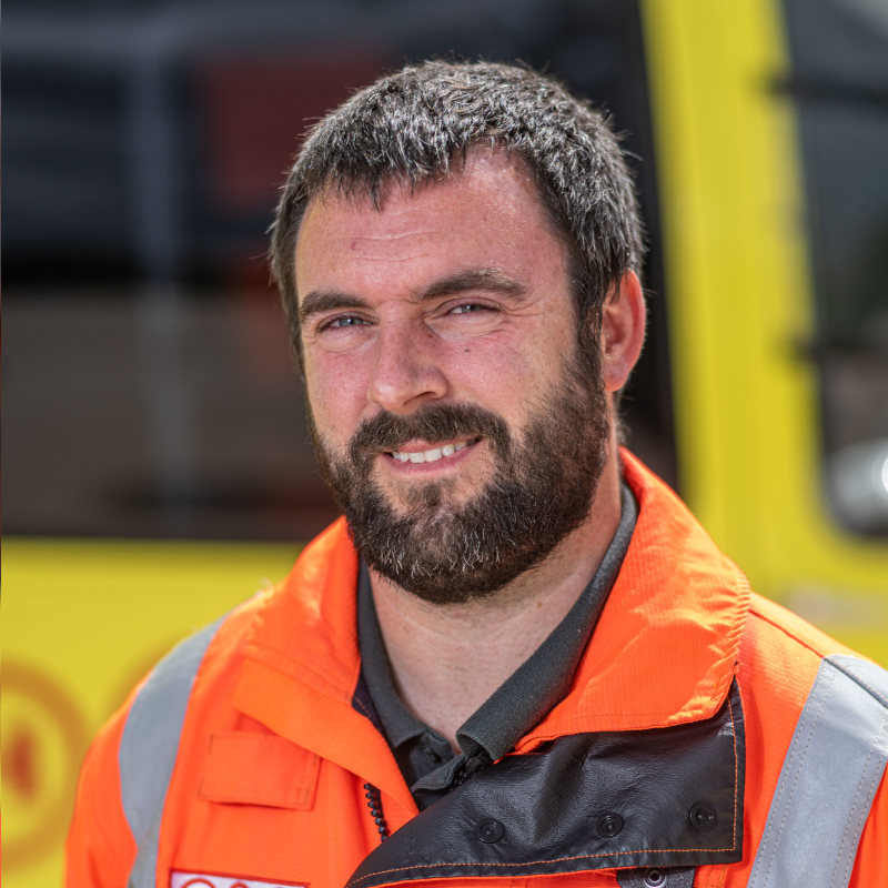 Image of HEMS Paramedic James Stubley