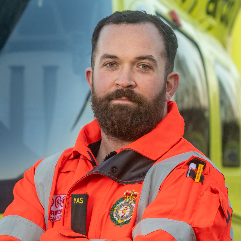 Image of HEMS Paramedic Matty McCabe