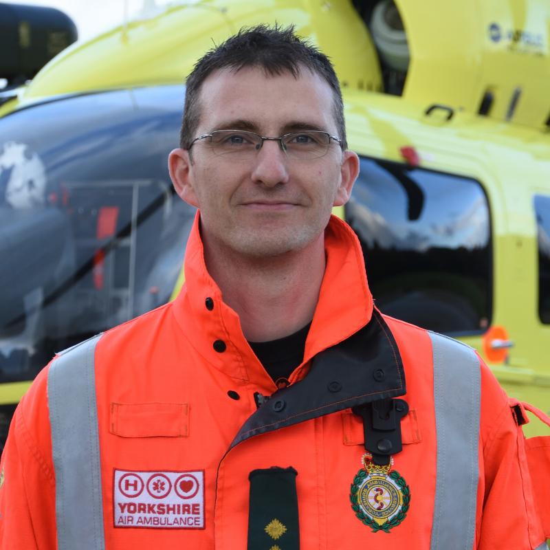 Image of HEMS Paramedic Paul Holmes