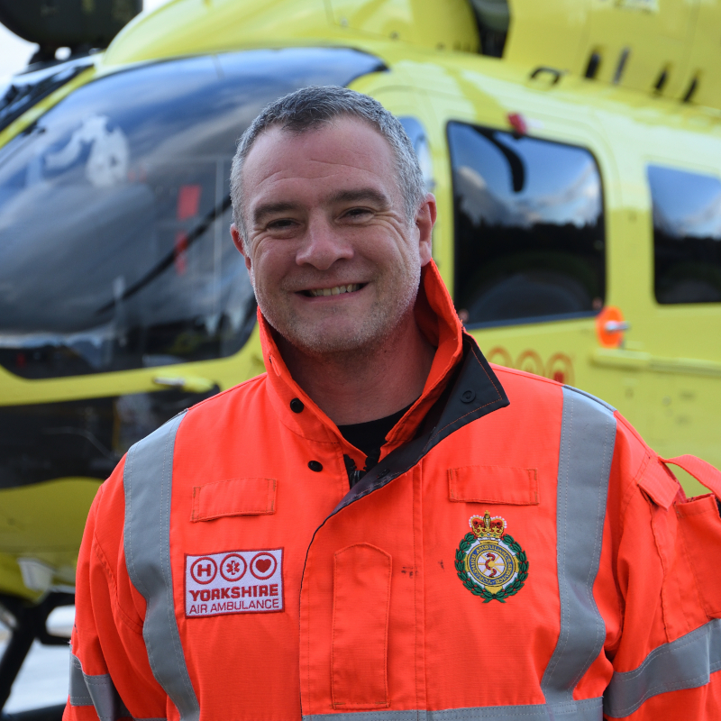 Image of HEMS Paramedic Pete Rhodes