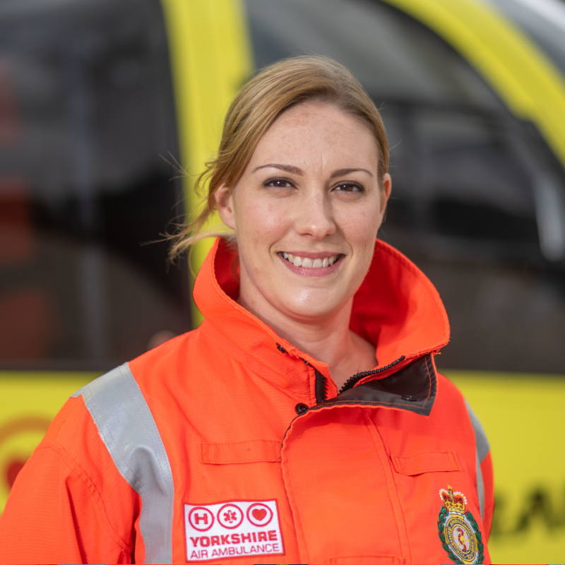 Image of HEMS Paramedic Rachel Smith