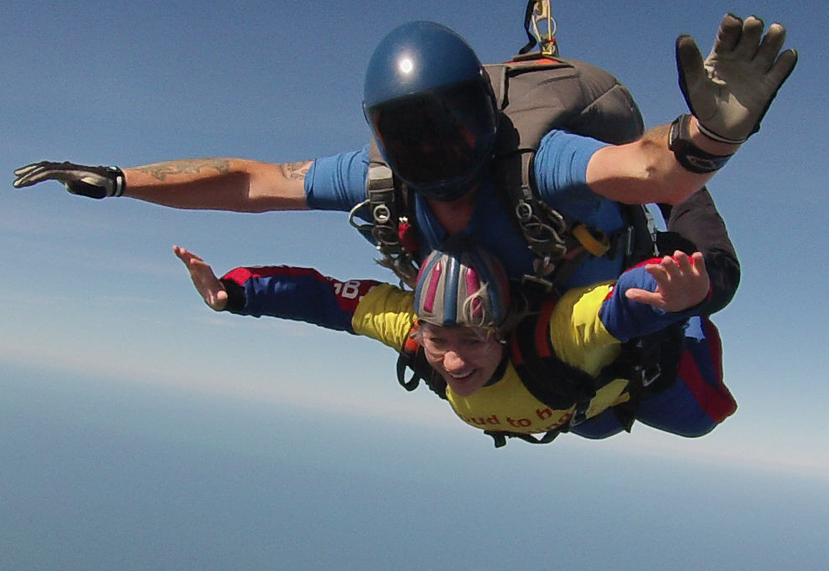 Image of Yorkshire Air Ambulance Tandem Skydive with SkydiveGB