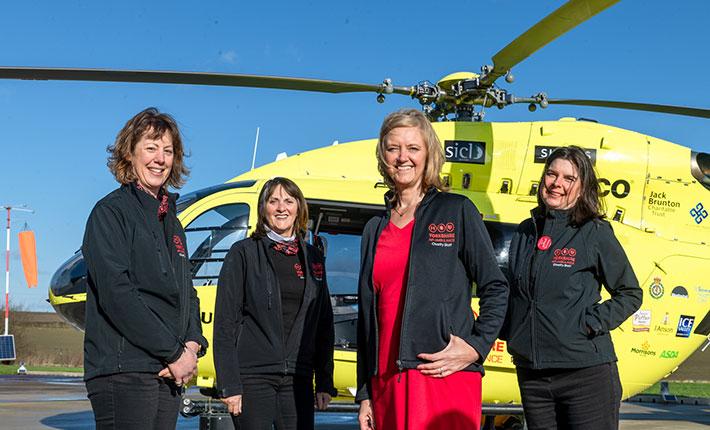 Yorkshire fundraising team
