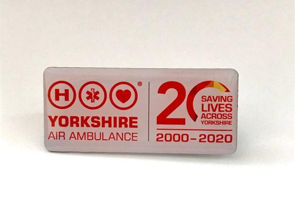YAA Logo Pin Badge