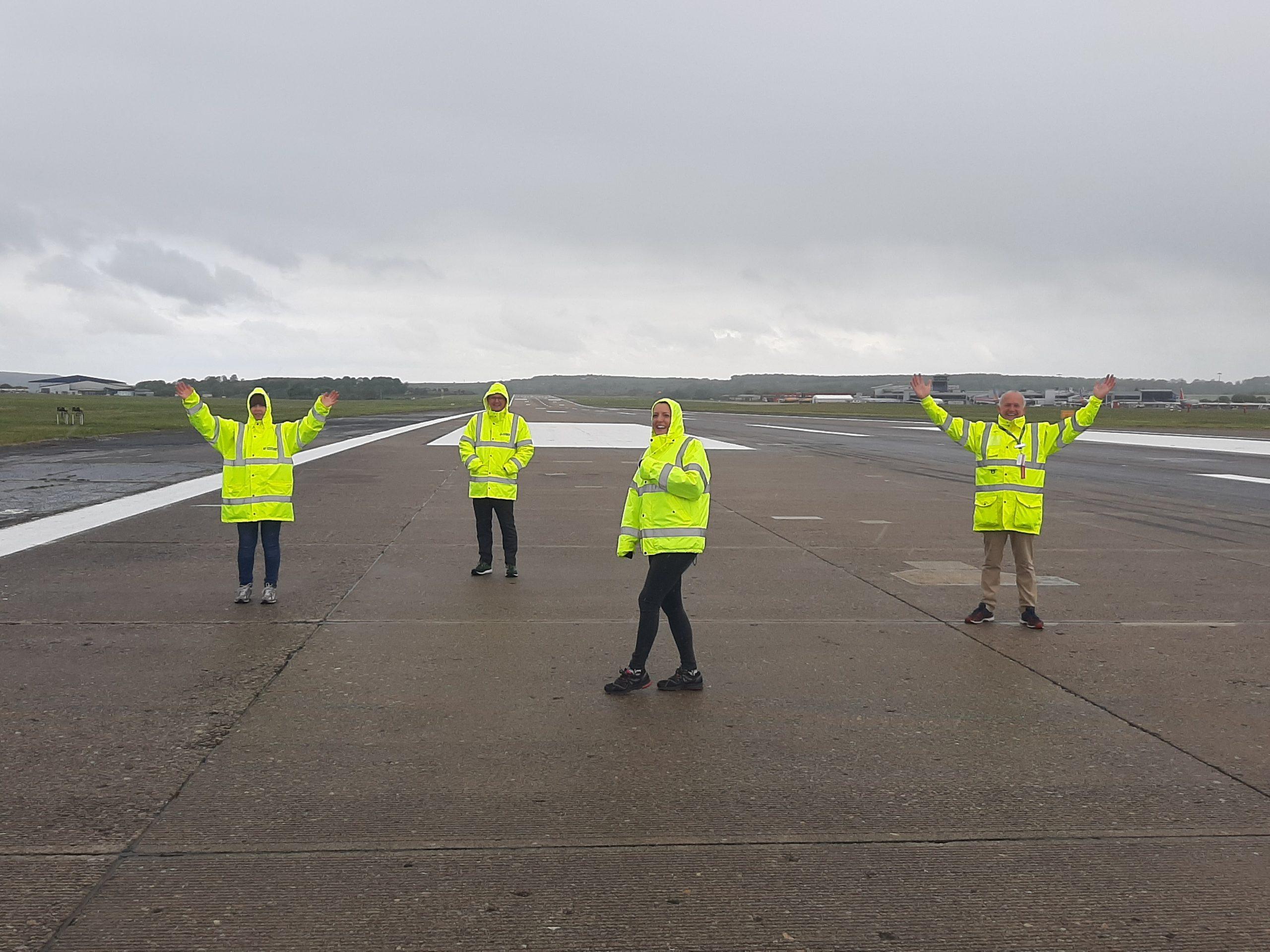 Staff at Leeds Bradford Airport