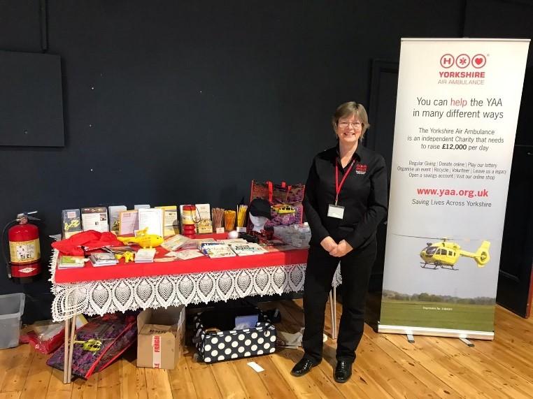 Helen Murray Sharpe fundraising for the YAA