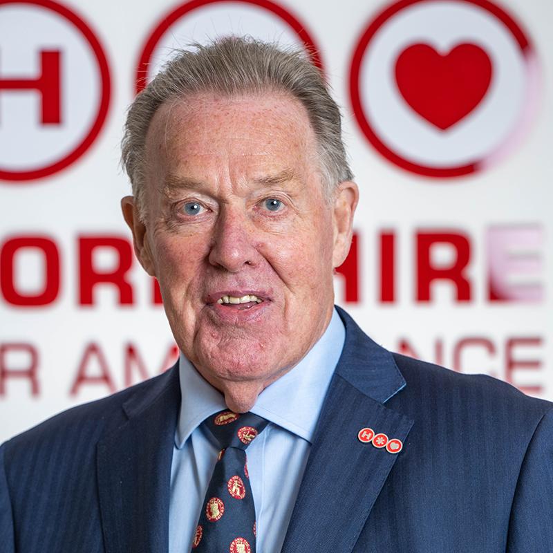 Photo of YAA Chairman Peter Sunderland