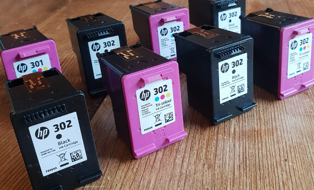 Image of ink cartridges
