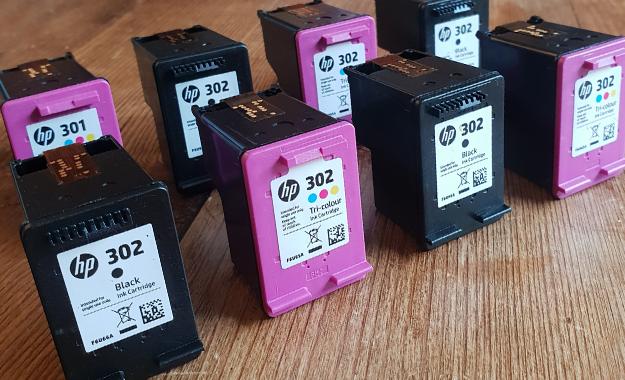 Image of ink cartridges