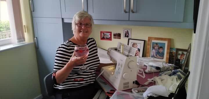YAA Volunteer raises an impressive £2,240 sewing masks