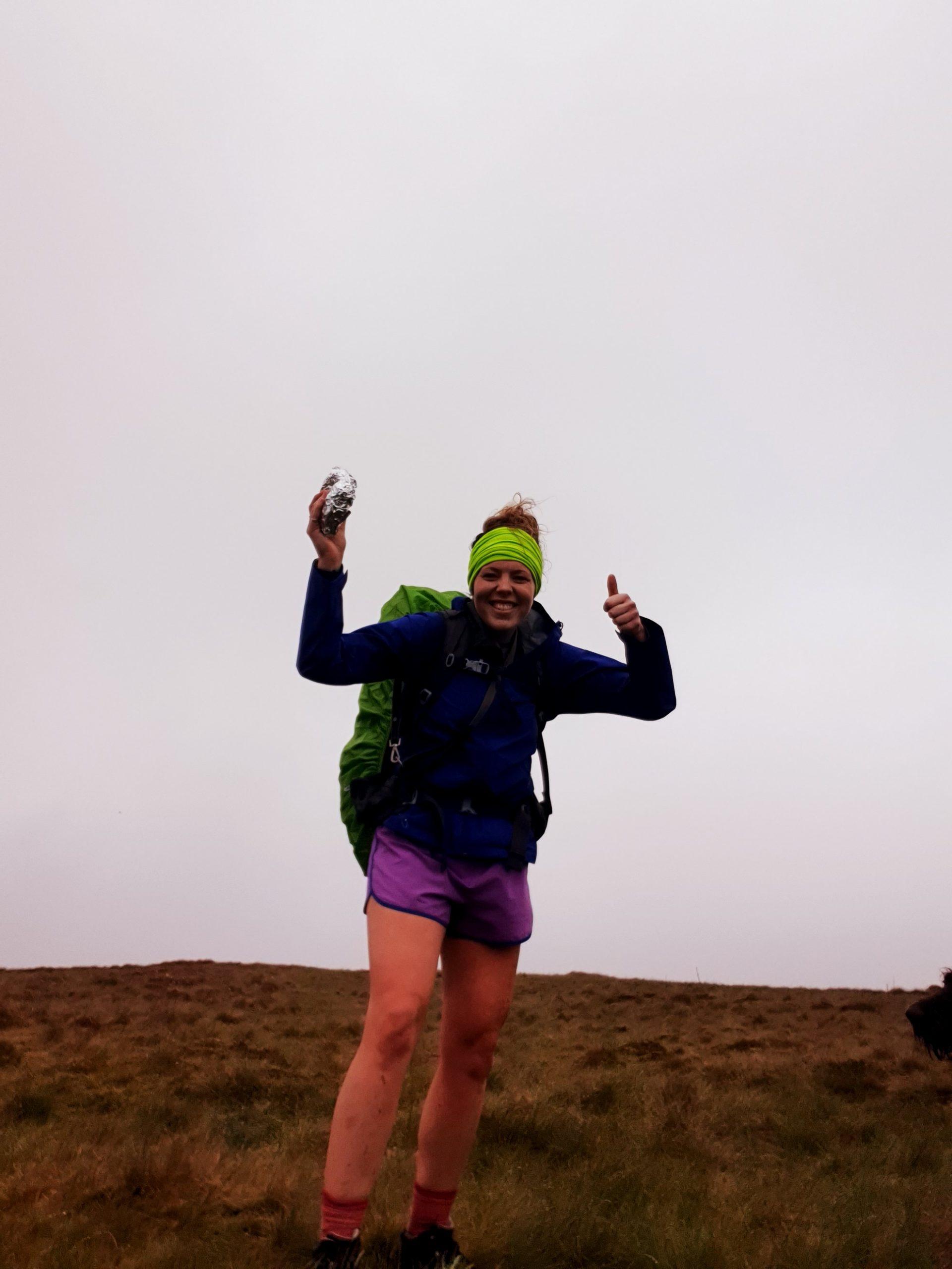 Megan Bennett's West Highland Way Adventure for the YAA