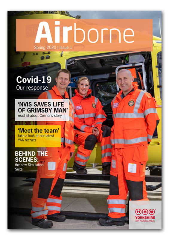 Image of YAA Airborne Newsletter - Spring 2020 Issue - Front Cover