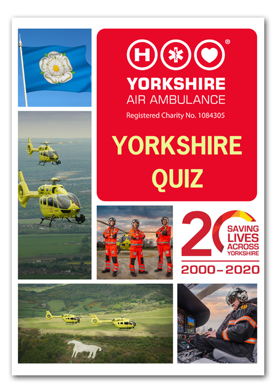 Image of YAA Yorkshire Quiz Front Cover