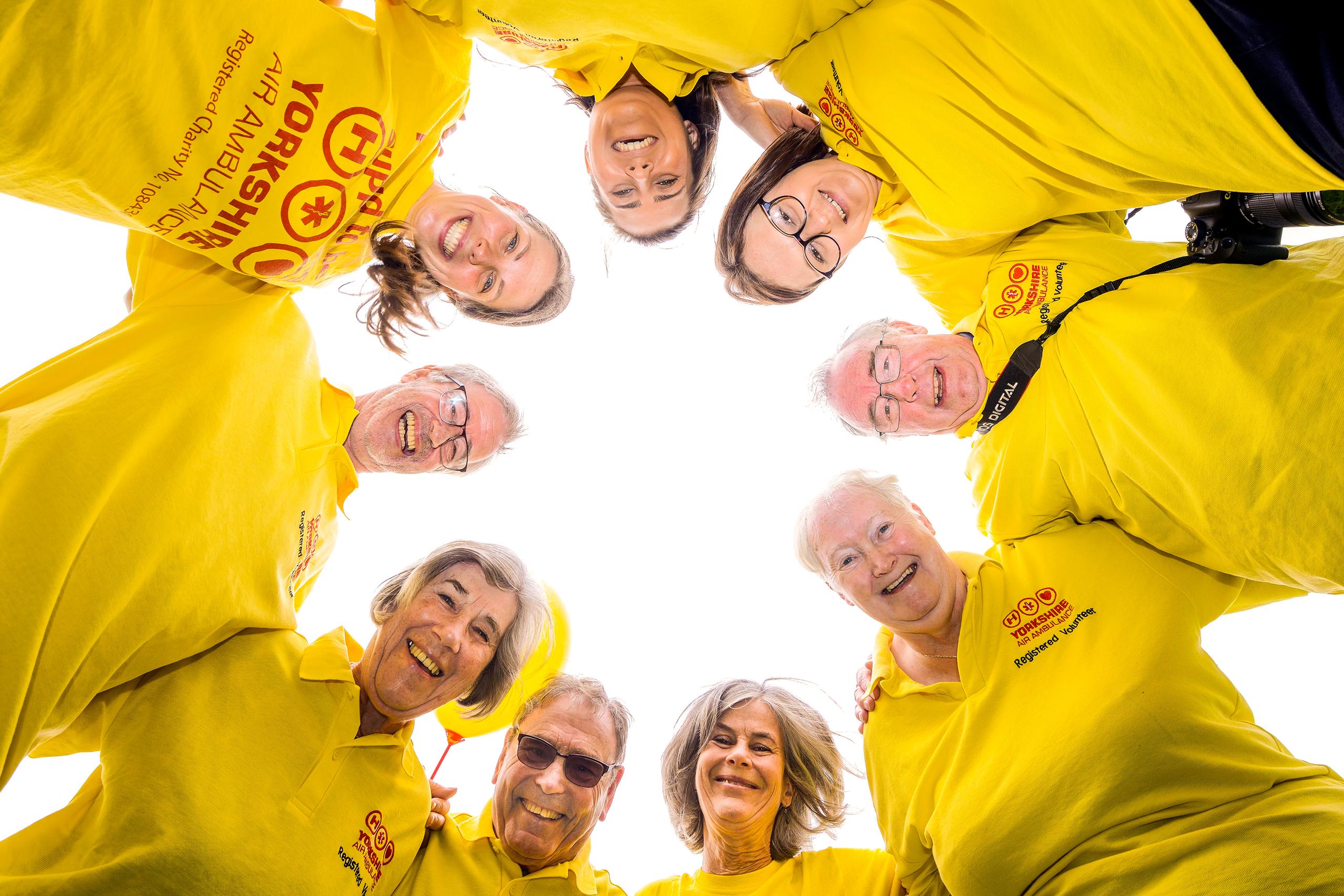 Image Showing YAA Volunteers
