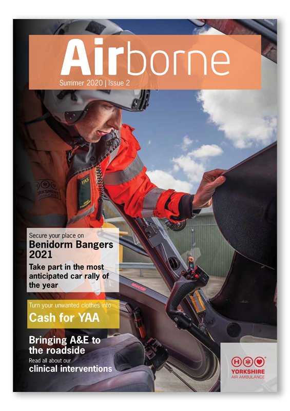 Image showing the cover of the YAA Airborne Newsletter Summer 2020 Edition