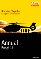 Front over of YAA Annual Report Year Ending March 2020