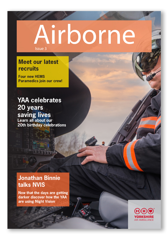 Image of front cover of YAA Newsletter Issue 3
