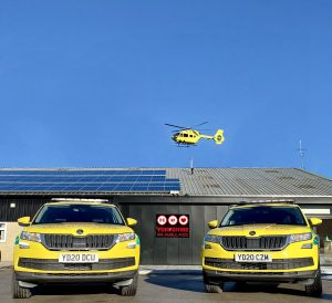 Photo of Yorkshire Air Ambulance Rapid Response Vehicles