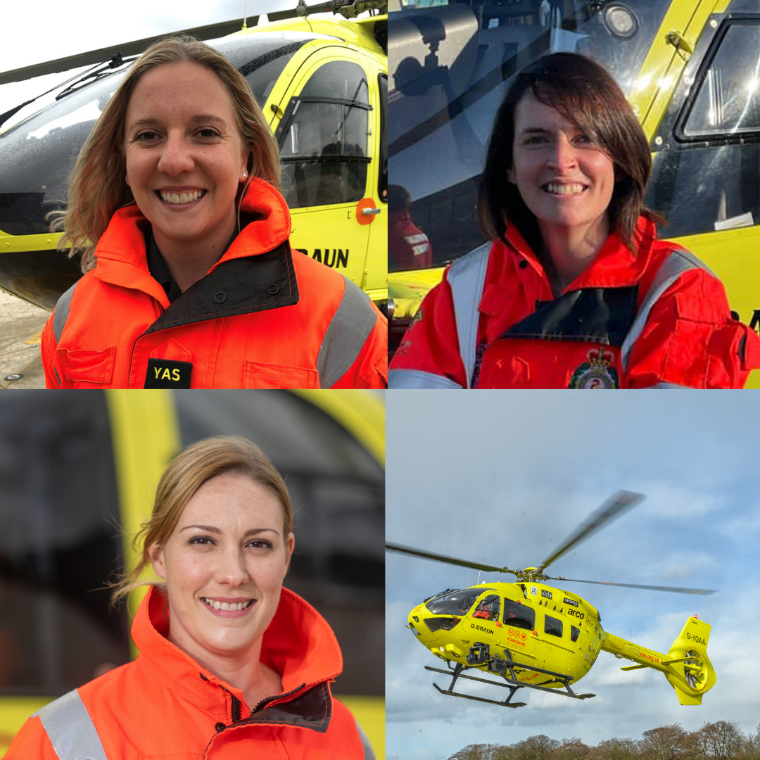 This International Women's Day we've caught up with 3 YAA Paramedics