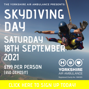 Details of YAA Skydive 2021