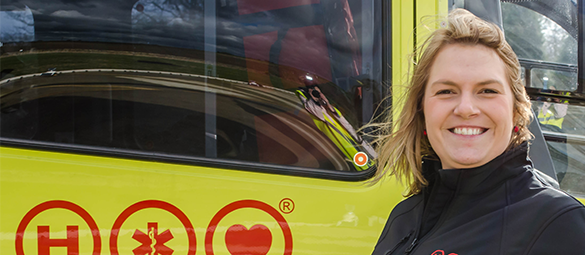 Photo of Yorkshire Air Ambulance Corporate & Partnerships Manager Katie Collinson