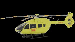 Rendering of YAA 5 bladed H145 aircraft