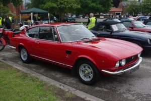 Photo of red classic car