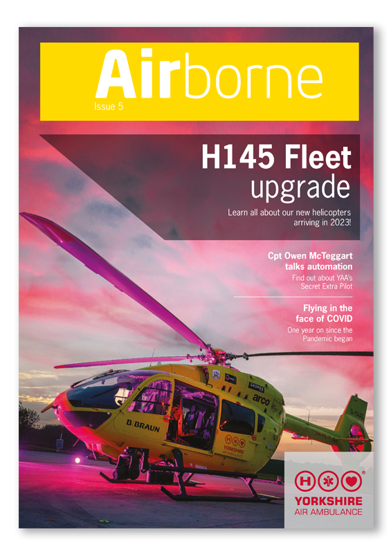 Front cover of YAA Airborne Newsletter Issue 5