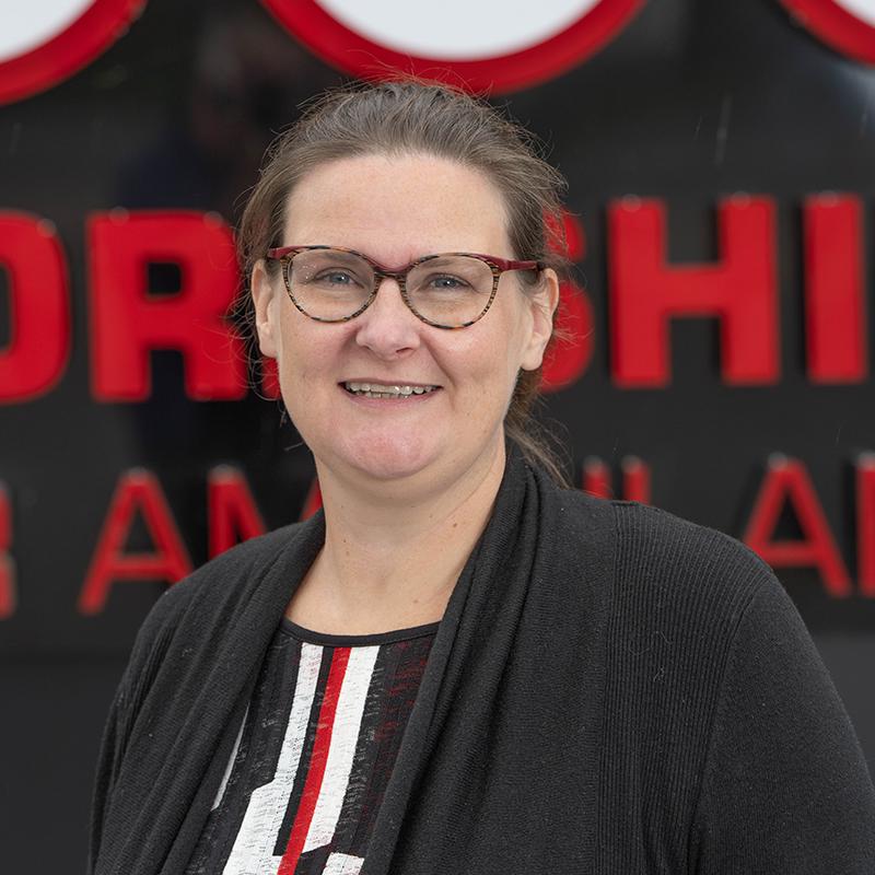 Photo of YAA Director of Finance Heather Goodwill